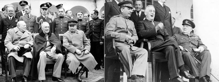 Отзывы Черчилля и Рузвельта о Сталине