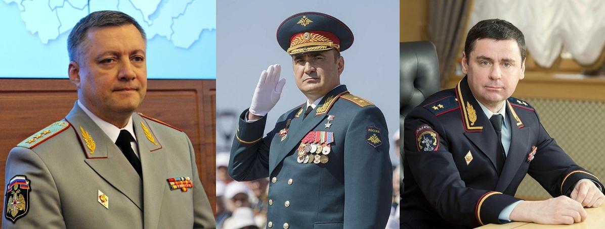 5 Генералов, Которые Являются Губернаторами и Главами Субъектов РФ