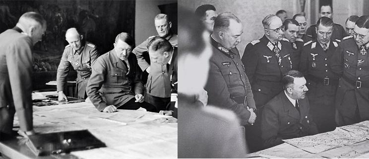 Четыре Ставки Гитлера на Территории СССР