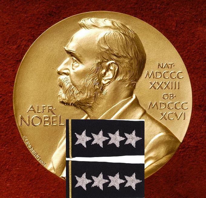 Генерал и Маршал, Получившие Нобелевские Премии