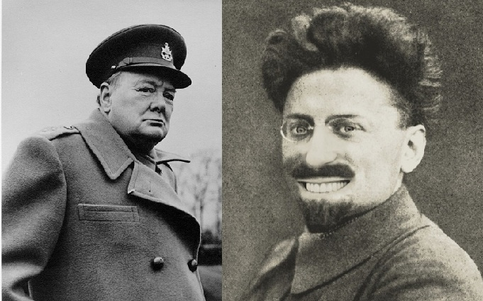 Черчилль Грозил России Нападением 14 Держав, но Троцкий Над Ним Смеялся