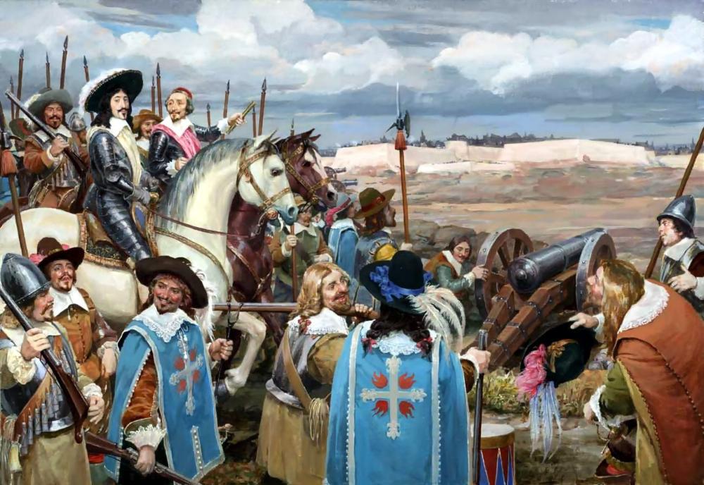 Мушкетеры Короля: Подлинная История Легендарного Французского Подразделения, Особенности Комплектации, Вооружение и Участие в Войнах
