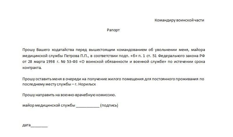 Увольнение в Запас Военнослужащих Российской Армии