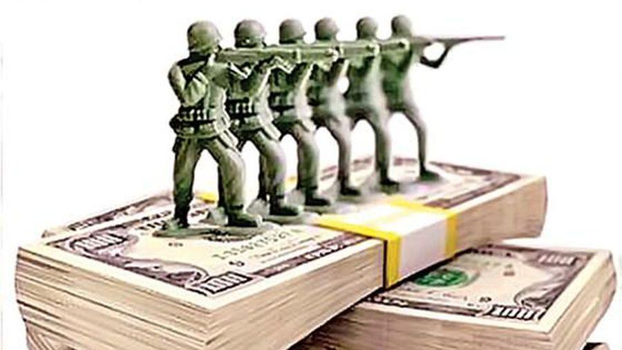 Уровень финансирования - важнейший фактор, во многом определяющий боеспособность армии.