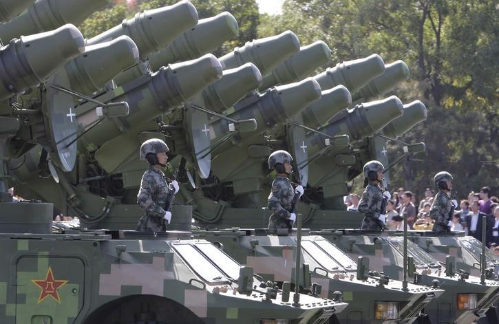 Китай увеличивает свои военные расходы на протяжении последних 25 лет.