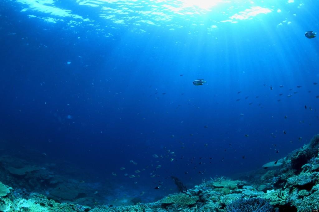 глубины Тихого океана
