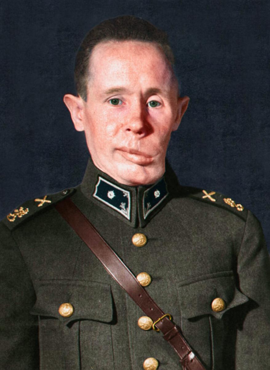 Второй лейтенант Симо Хяюхя