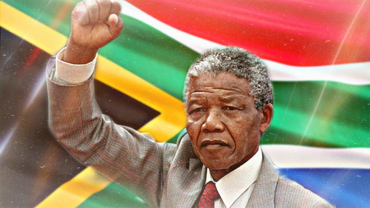В день инаугурации первого президента Нельсона Манделы