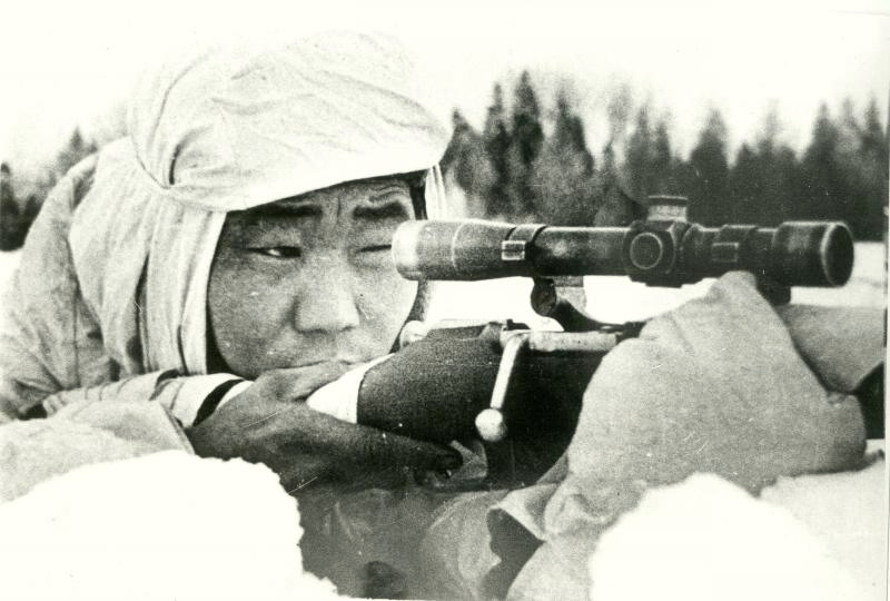 Сержант Федор Охлопков