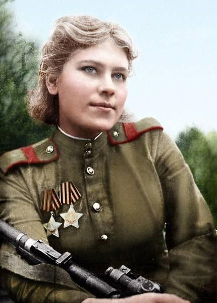 Старший сержант Роза Шанина