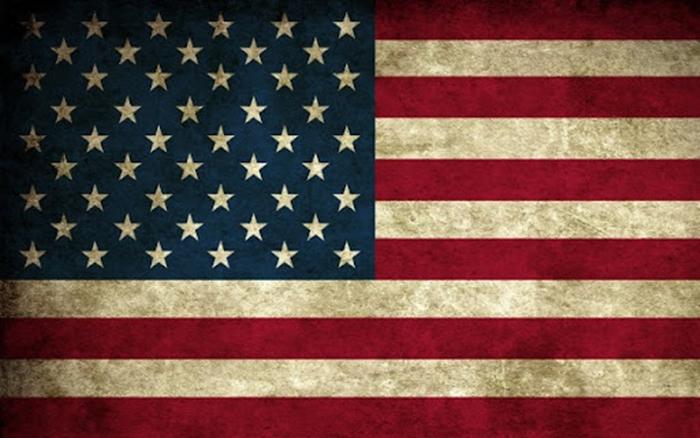 флаг сша Звездно-полосатый