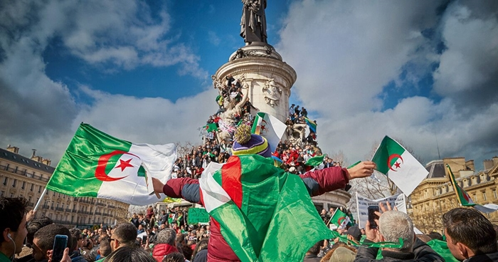 флаг алжира старый