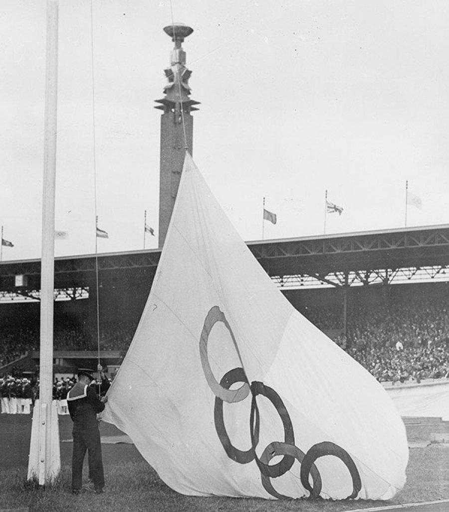 Антверпене в 1920