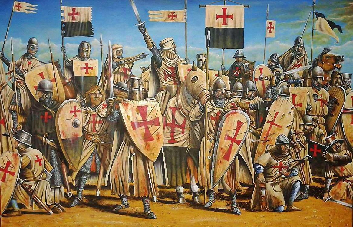 Во времена крестоносцев