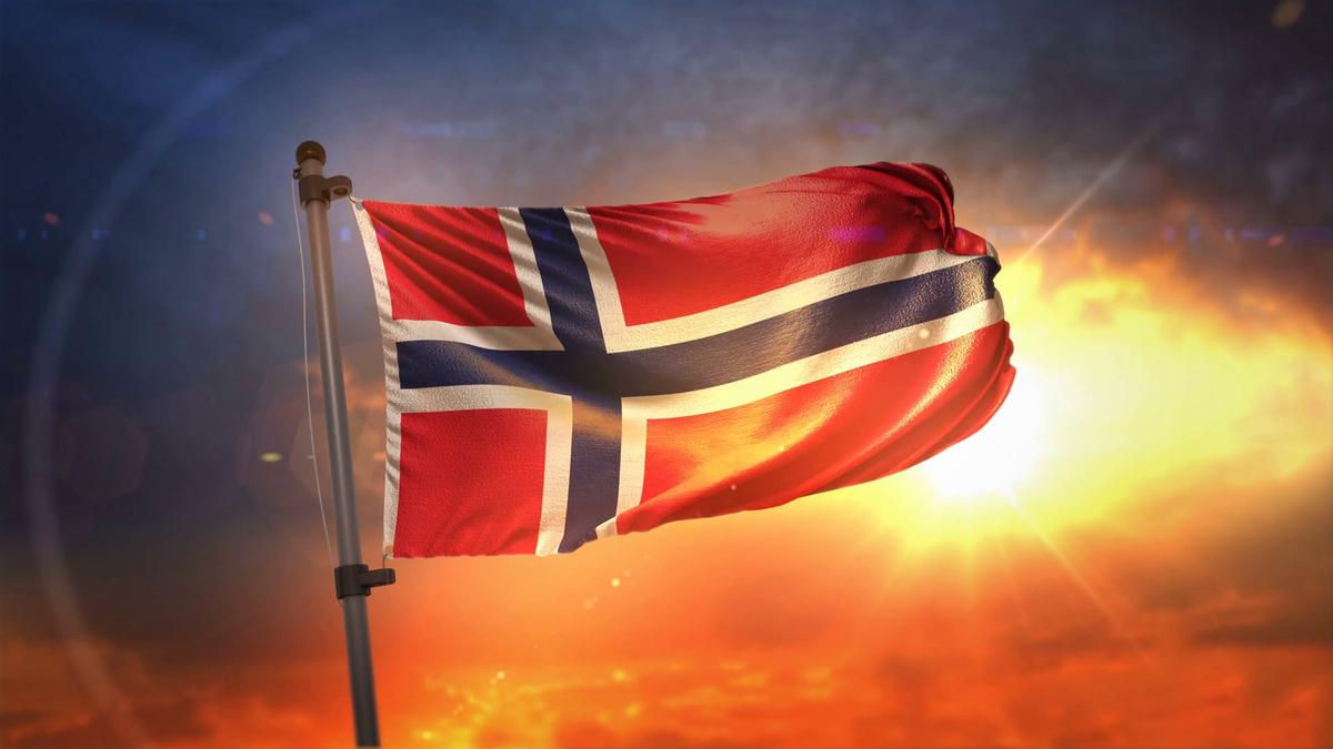 знамя Королевства Норвегия