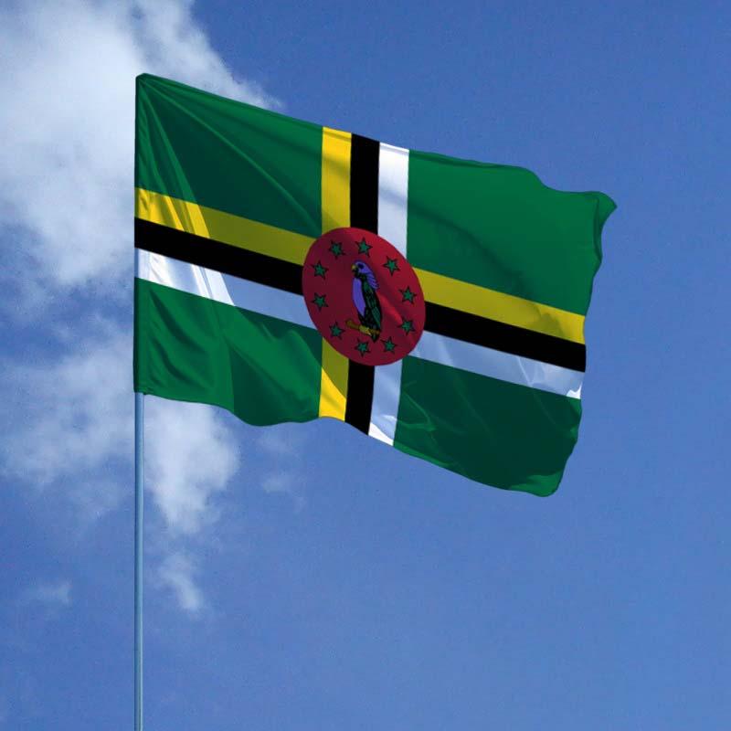 Доминика флаг