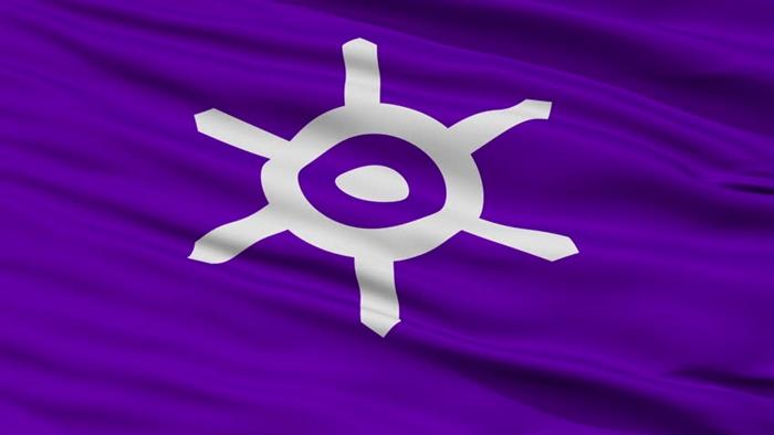 Флаг Токио