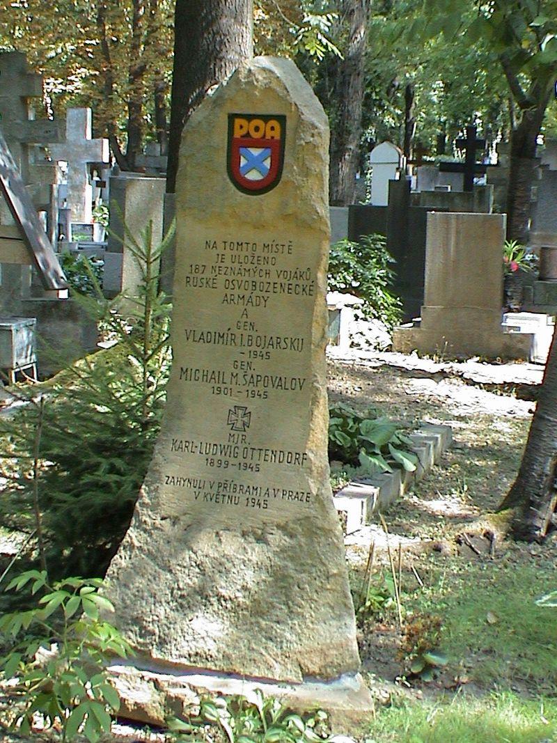 800px-Olšanské_hřbitovy,_Ruská_osvobozenecká_armáda