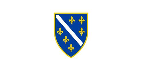 флаг боснии и герцеговины