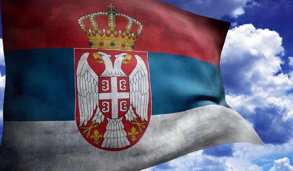 Flag-Serbii