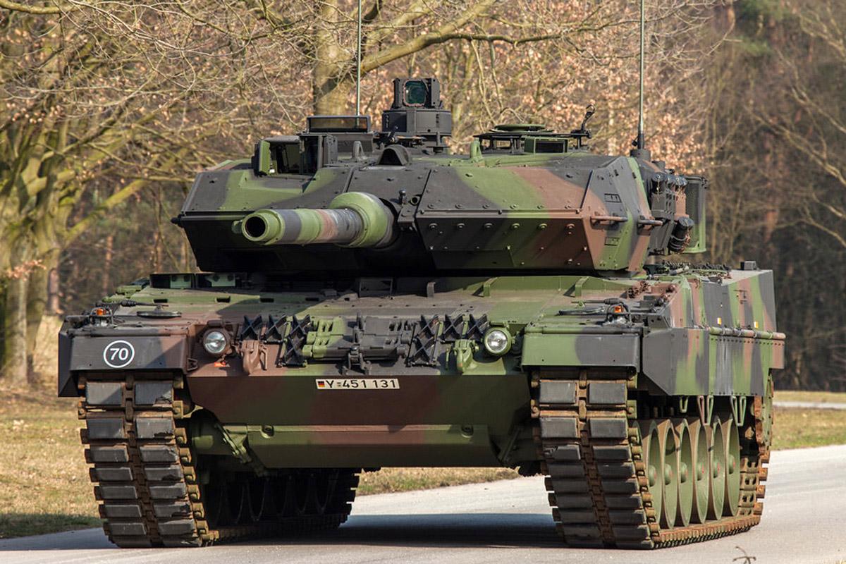 Leopard 2 A7 Meng German Main Battle Tank review 35th scale - pic 05