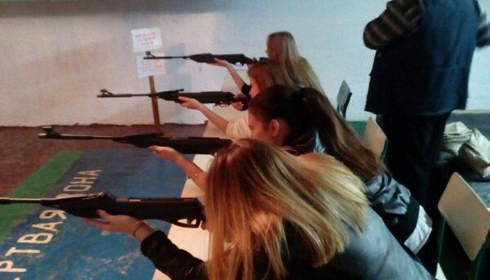 гто стрельба из пневматической винтовки