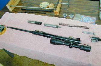 замена пружины на пневматической винтовке